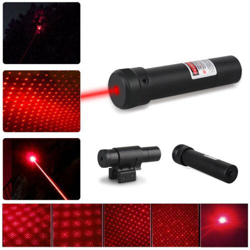 1x Stück Laserpointer Beam Light Rot Leistungsstarke Lazer schwarz Werkzeug