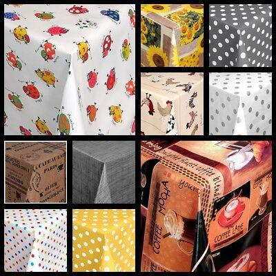 Tischdecke aus Wachstuch abwaschbar Design und Länge wählbar -Top Designs- ()
