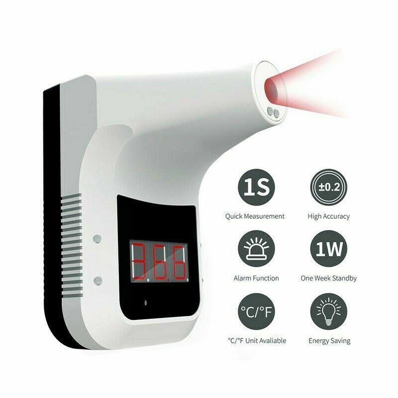 Termometro digitale a infrarossi automatico da muro da parete termoscanner