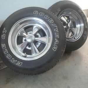 Cragar SS rims with goodyear tires