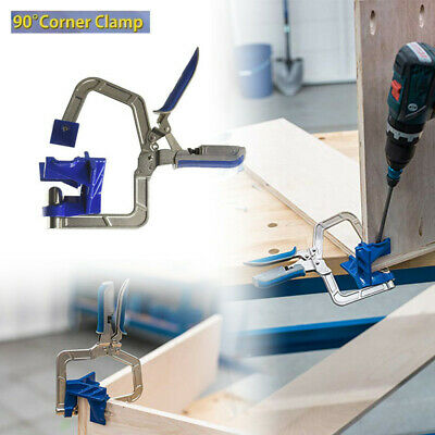 Pro Multifunctional Corner Clamp Jigs and 90° Degree Corner Joints&T Joints Tool 90 Degree Corner Clamp