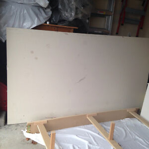 "Sheet of 3/4inch gyproc - 7'2"" x 4'"