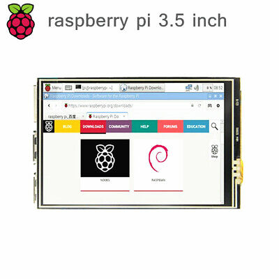 New 3.5 Inch Tft Lcd 320480 Touch Screen Display Module For Raspberry Pi 4 3b