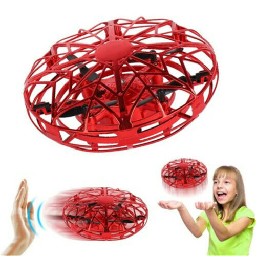 Mini Flying Drone Induction Levitation UFO Hand Operated Safely Toys For Kids US