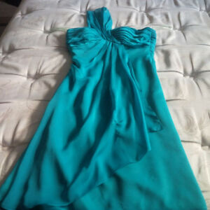 Like-new! Symphony of Venus Turquoise Dress - Size 6