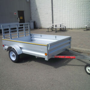 Utility Trailer 5' x 7' with fold down front gate