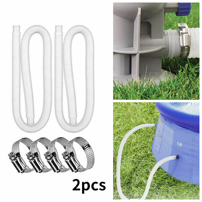 Accessory Hose Swimming Pool Pipe Tool for Pump/Filter/Heater Pipe x 1.5m 32mm