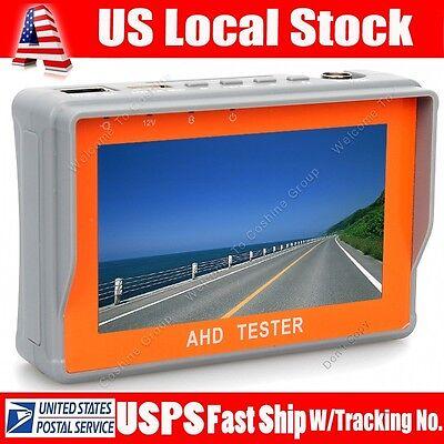 "4.3"" LTPS LCD HD 1080P CCTV Camera Monitor Tester Display AHD 12V-Output Test"