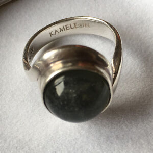 Kameleon Sterling Silver Ring and 5 Inserts