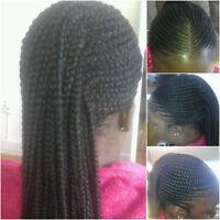 Tresses et coiffures africaines a partir de 20$
