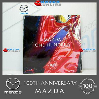 """MAZDA 100TH ANNIVERSARY """"MAZDA ONE HUNDRED"""" BOOK MAZ002-MAZDA100-BOOK"""