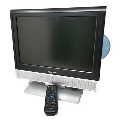 "TRUTECH 17"" LCD TV/DVD/PC Monitor Combo Model PVS21175S1 Retro Gaming"