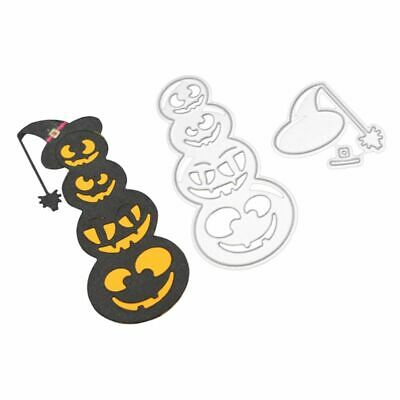 Halloween Metal Cutting Dies Stencil DIY Scrapbooking Embossing Paper Card Craft](Diy Halloween Paper Crafts)