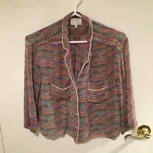 Wilfred silk blouse - Sm