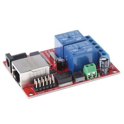 Lan Ethernet 2 Way Relay Board Delay Switch Tcpudp Controller Module Web Server