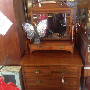 Reproduction cast hardware, cabinets, dressers, lamps, rugs,