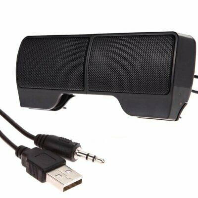 Mini Portable USB Stereo Speaker Soundbar for Notebook Laptop Mp3 Phone PC