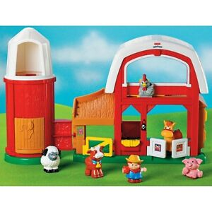 Fisher Price Little People Farm with extras