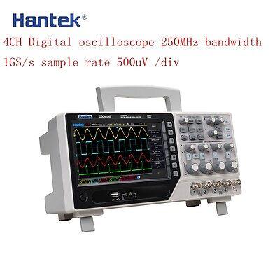 Hantek Dso4254b Digital Storage Oscilloscope 4channel 64k 250mhz 1gsas Real Ti