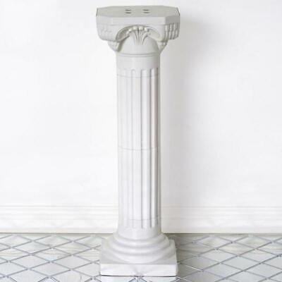 "Used, 4 pcs 36"" tall White Decorative Roman Empire Wedding Columns Party Decorations for sale  La Puente"