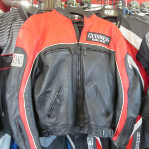 First Racing Men's Leather Motorcycle Jacket ONLY $80 RE-GEAR