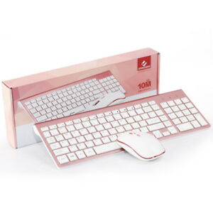 JOYACCESS 2.4g Wireless Keyboard and Mouse Combo Full-size