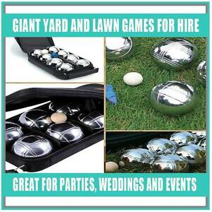 Giant Garden/Lawn Games - Perfect for Indoor or Outdoor Parties! Banksmeadow Botany Bay Area Preview