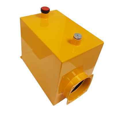 12 Volt Hydraulic Pump 15 Quart Steel Reservoir Check Dimensions At Left.