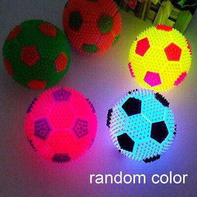 nkt Ball Springen Prellen Fußball Spielzeug Geschenk (Led Blinkt Ball)