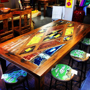 BOATWOOD TABLE NOW ONLY $1260 - BALI & BEYOND