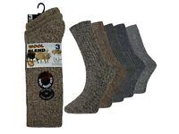 144 Pairs Mens Thermal Wool Socks Cushion Padded Long Boot Socks Size 6-11 Wholesale Clearance Lot