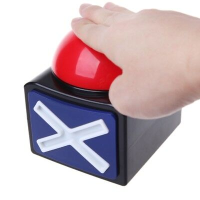 Game Answer Buzzer Alarm Button With Sound Light Trivia Quiz Got Talent Buzzer