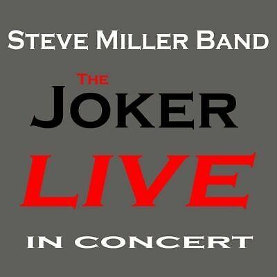 Steve Miller Band-The Joker Live In Concert CD (2014) New & Factory