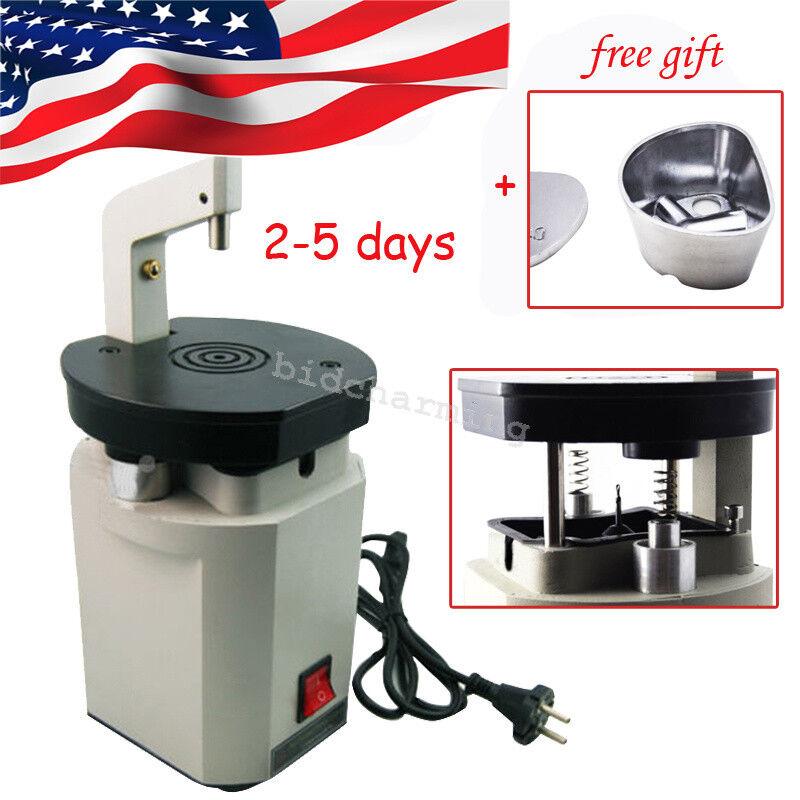 US SHIP Dental Laser Pindex Drill Driller Machine Pin System+ Duplicating Flasks