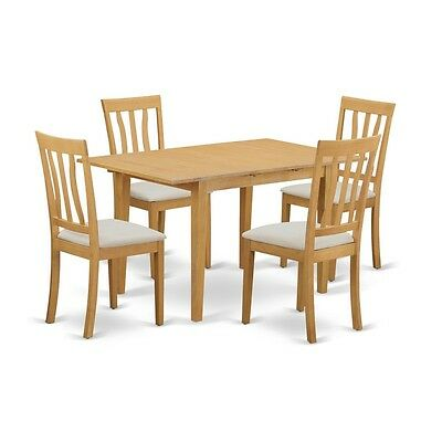5 Piece Dining room table set - Kitchen dinette table and 4 dining chairs NEW