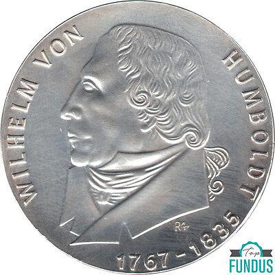 DDR 20 Mark Wilhelm von Humboldt 1967 J.Nr. 1520 st (420)