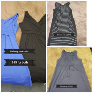 Maternity clothes. Sz med-lg. All in EUC