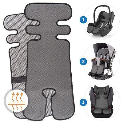 Atmungsaktive Sommer Sitzauflage für Kinderwagen, Buggy, Autositz und Babyschale