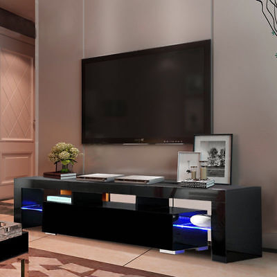 TV Stand Table Media Entertainment Center Console Modern Storage Cabinet Shelf - Modern Tv Cabinets