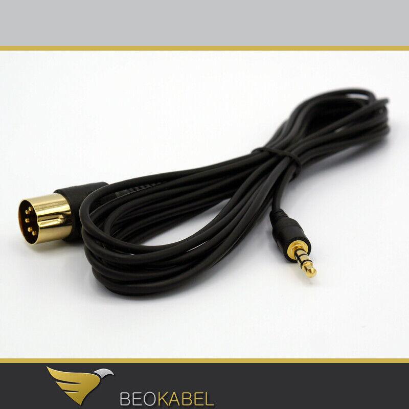 für Beogram u. a. AUX Cinch Adapter für B/&O Bang und Olufsen