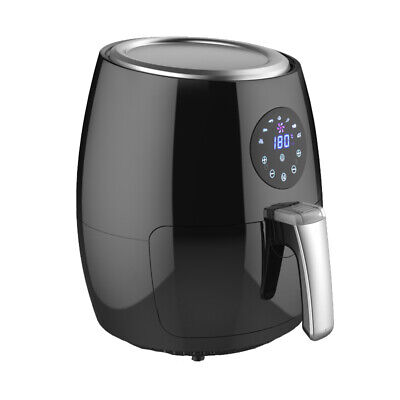 Smart Touch Screen Lcd 2.8qt Digital Electric Air Fryer With Led Touch Display