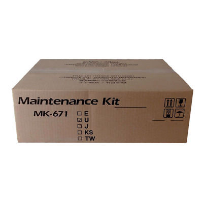 Genuine Kyocera Km-2540 Km-2560 Km-3040 Km-3060 Maintenance Kit Mk671 Mk-671