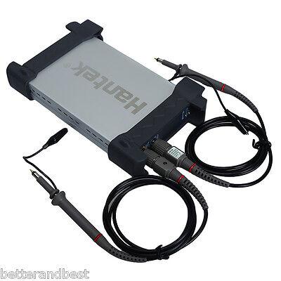 HANTEK 6022BE PC USB 2CH Digital Oscilloscope Storage 20Mhz 48Msa/s 1M Byte/CH
