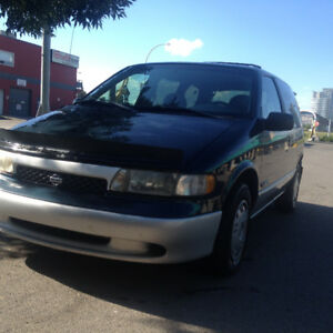 1999 Nissan Quest  Minivan RELIABLE CHEAP ON FUEL REMOTE START
