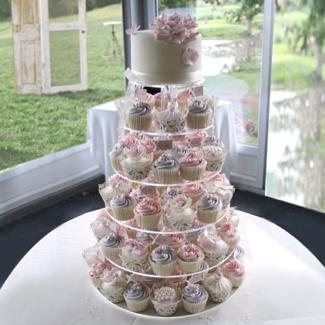 Hire cupcake stand cake stand wedding cake stand