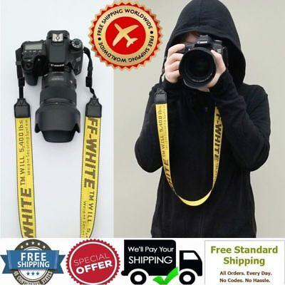 Best Fashion-off-White-Shoulder-Belt-Neck-Strap-Holder-for-Camera-FREE