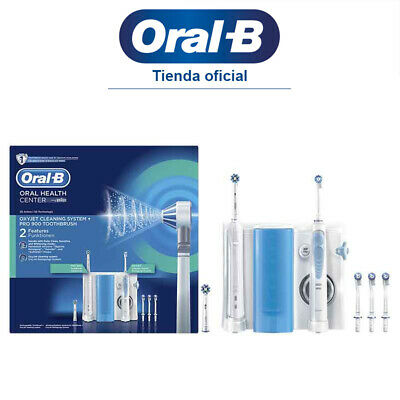 Estación De Cuidado Bucal Cepillo Eléctrico Oral-B PRO 900 + Irrigador Oxyjet