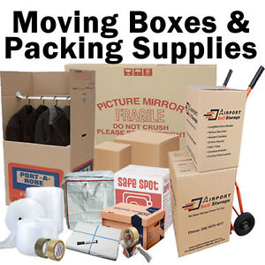 Moving Boxes and Packing Supplies - lower prices, lots of stock. Ascot Belmont Area Preview