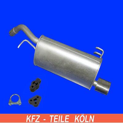 Schalldämpfer/_Anlage Mitsubishi Colt 1,3 GLIi 1,6 GLXi Auspuff Endschalldämpfer