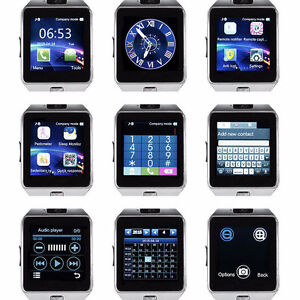 Bluetooth Android Smart Watch/Facebook/Whatsapp/Simcard/Camera London Ontario image 2